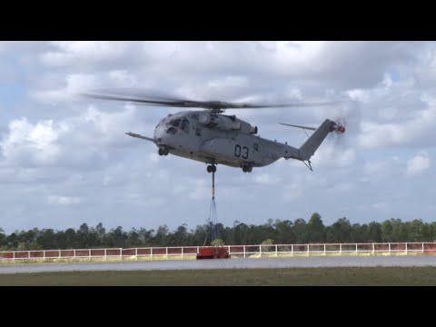 Sikorsky CH-53K Completes Critical Flight Envelope Expansion with 36,000-pound External Lift
