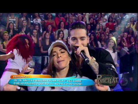 Anitta e Maluma cantam o sucesso 'Sim ou Não'