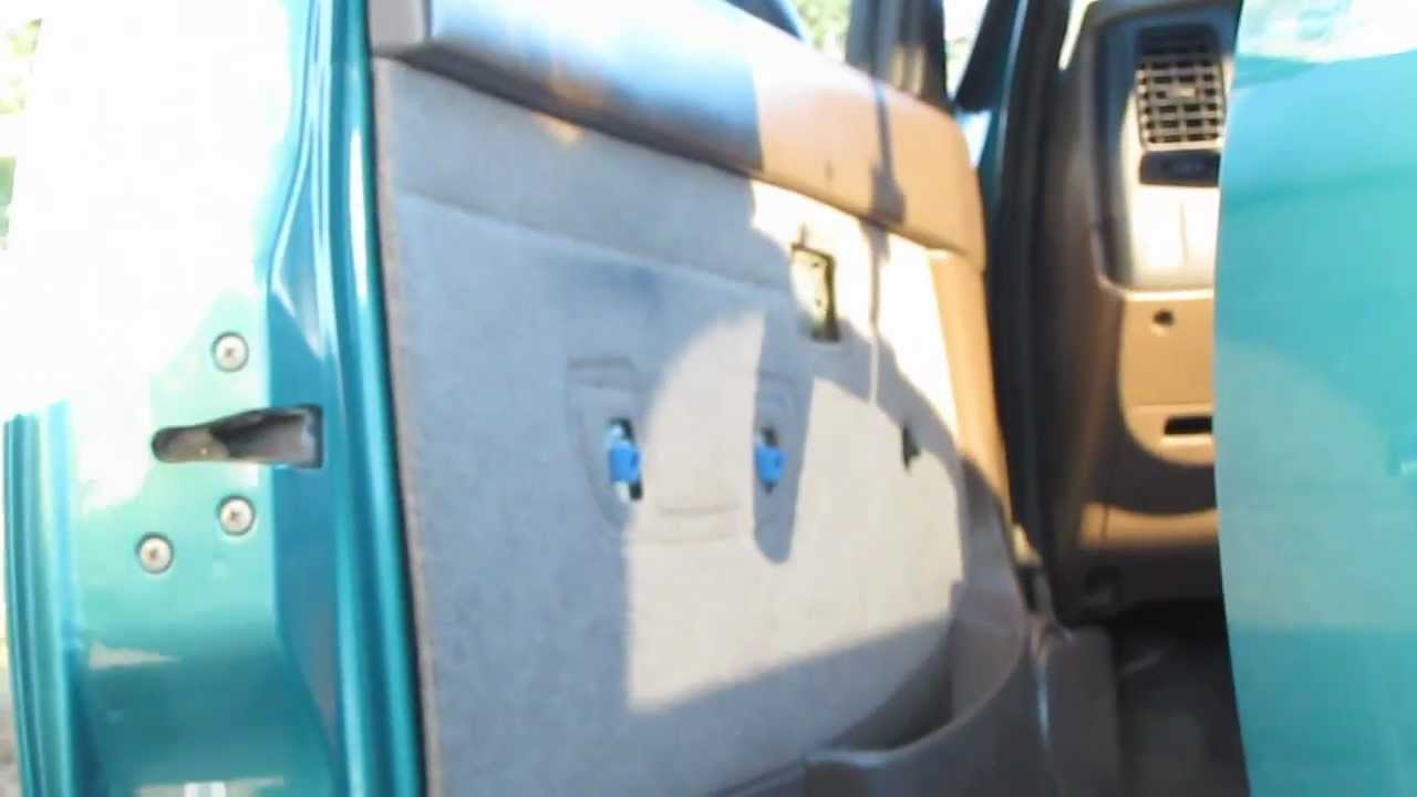 Toyota Tacoma Door Panel Removal Part 4 Removing Panel Youtube