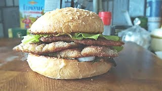 Бургер с салакой по шведски / Swedish Herring burger
