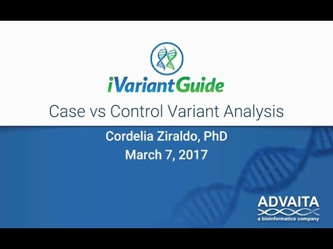 Analysis ofCase vs  Control Variantsin iVariantGuide