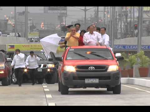 Formal Opening of the C-3 Road and Quezon Blvd. Interchange