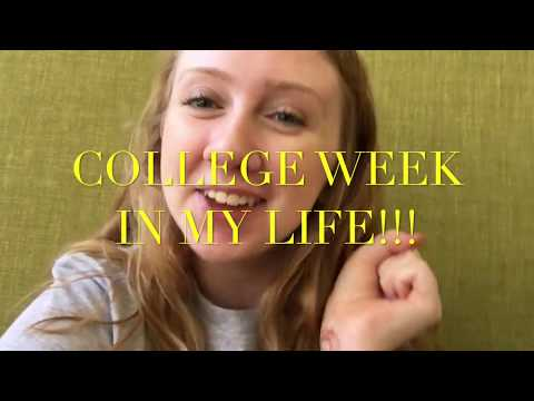 College Week in My Life | Freshman at Columbia College Chicago