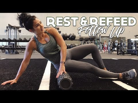 REFEED & REST DAY Follow Up | HIT THE GLUTES FIRST | Audacious Bikini Prep Ep. 7