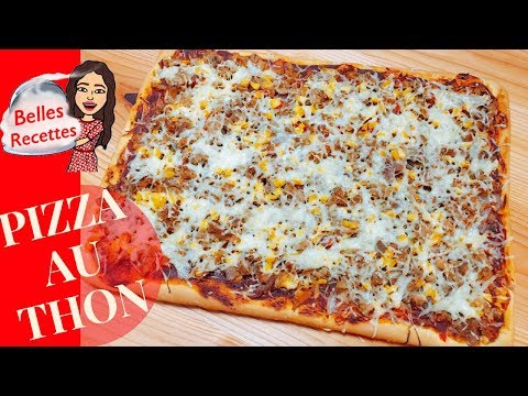 pizza-au-thon---simple-et-rapide---belles-recettes