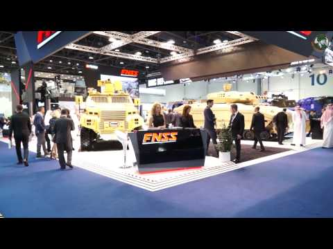 FNSS at IDEX 2017: Promoting latest innovations and introducing the company's vision for the future