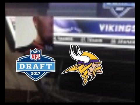 Dalvin cook Minnesota Vikings NFL draft 2017 reaction