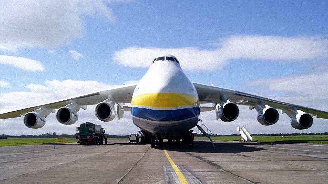 самый большой самолёт в мире ан-225 фото