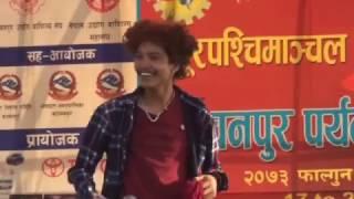 Tanka Timilsina In kanchanpur ४० हजार दर्सक लाइ नचाय टंक तिमिल्सिनाले 2073