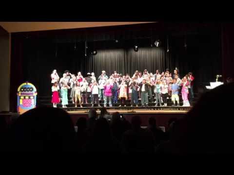 Three Trails Elementary Fifth Grade Music Program 2017 - Juke Box Time Machine
