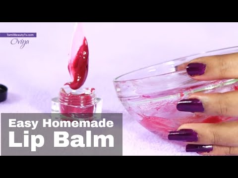 How To Make Your Own Lip Balm For Soft Pink Lips
