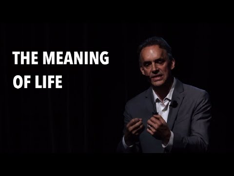 Jordan Peterson gets emotional talking about the meaning of life