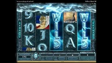 Thunderstruck II Bonus  - Double WildStorm Bonus