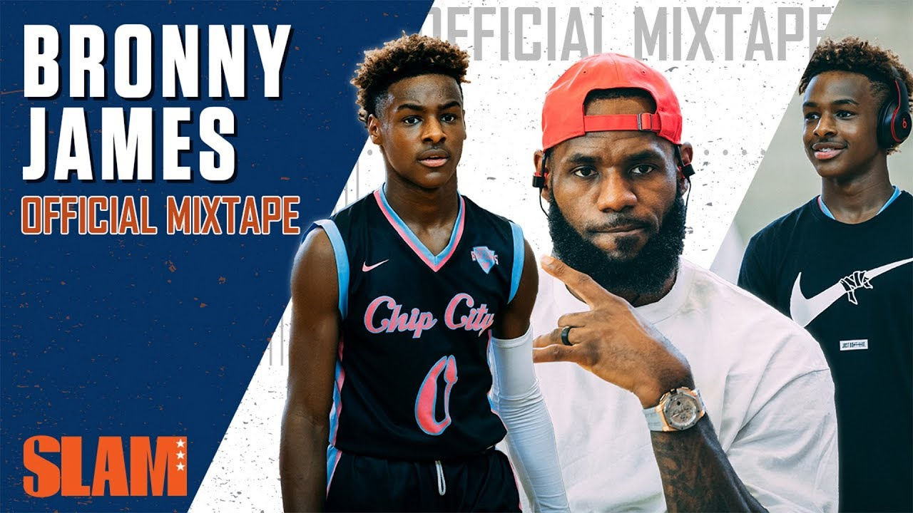 new products 220dc 1e338 Bronny James took OVER Summer AAU! 👑 | SLAM Official Mixtape