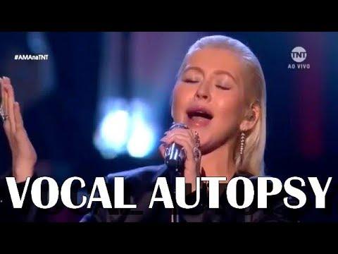 Christina Aguilera: VOCAL AUTOPSY (Whitney Houston Tribute)