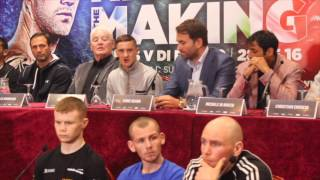 RICKY BURNS v MICHELLE DI ROCCO - OFFICIAL PRESS CONFERENCE / HISTORY IN THE MAKING