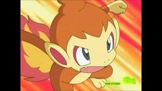 Pokemon DP Galactic Battles Kül Chimchar Tribute Pollinic Kızlar Anime Müzik Saldırı