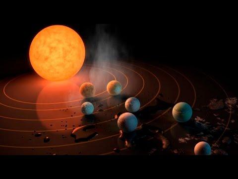 NASA descubre siete nuevos planetas