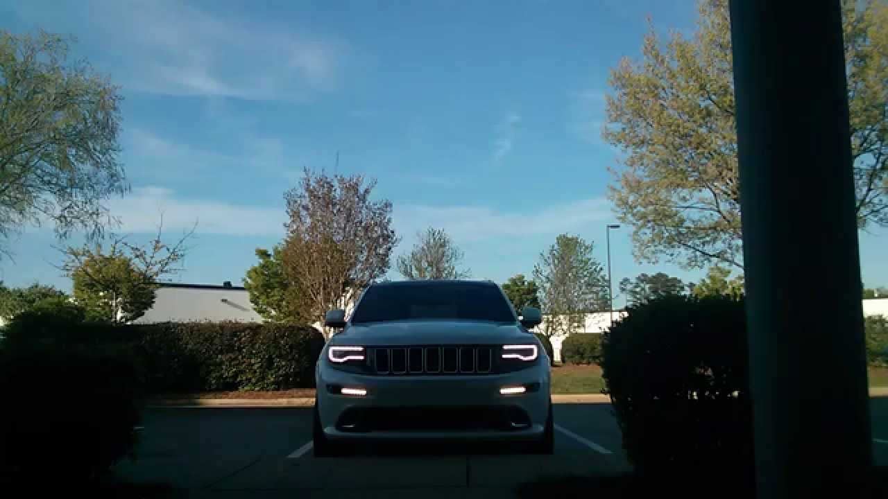 2014 jeep srt headlight drl modification youtube 2014 Jeep Grand Cherokee Dimensions at 2014 Jeep Srt Grand Cherokee Wiring Diagram