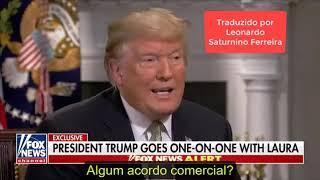Donald Trump elogia Bolsonaro em entrevista na Fox News