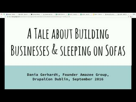 A tale about building businesses and sleeping on sofas