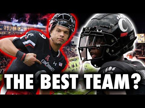 cincinnati is legit the best team in college football