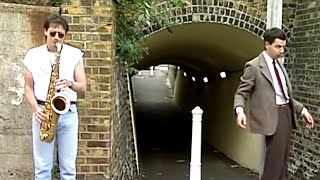 Street Dance   Funny Clips   Mr Bean Official