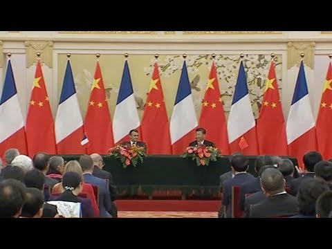 China And France Sign Deals Worth $15 Billion