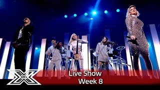 Clean Bandit perform Rockabye with Sean PaulAnne Marie The X Factor UK 2016