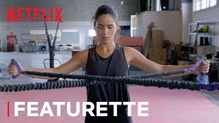 Adria Arjona's Triple Frontier Work Out | Netflix