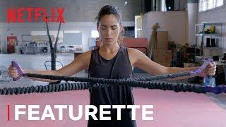 Adria Arjona's Triple Frontier Work Out | Netflix