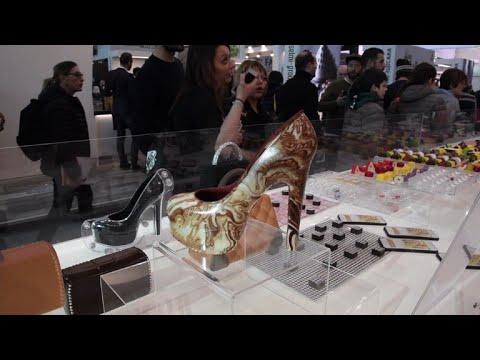 AFP news agency: Gelato, cake, coffee: A fair for sweet teeth in Italy's Rimini