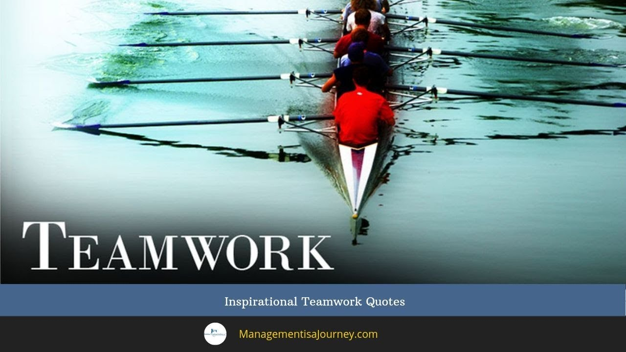 Image of: Hanquotes Inspirational Teamwork Quotes Youtube Inspirational Teamwork Quotes Youtube