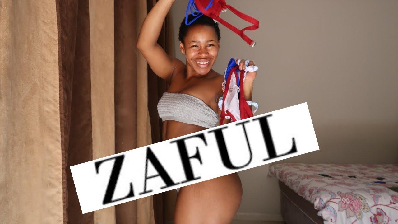 Gaby Potencia Nude bikini try on haul