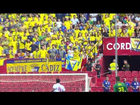 Resumen de Sevilla Atlético vs Cádiz CF (3-3)