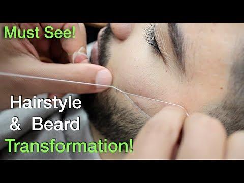 Best Hairstyles For Men 2018 (Huge Hair Transformation) (Undercut & Beard) #36