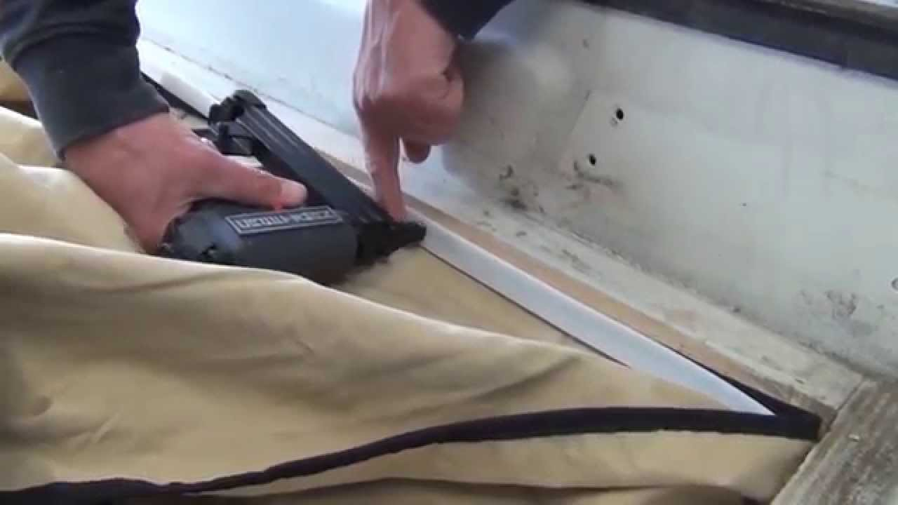 & GoWesty: Attaching a Staple-In Tent to Your Pop-Top - YouTube