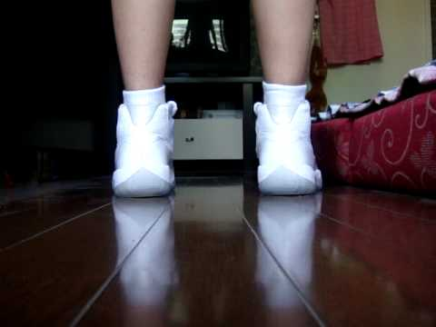 On Feet Section Of The Jordan 11 Silver Anniversary Youtube