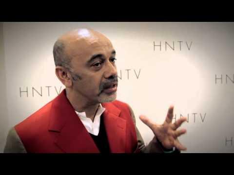HNTV interviews Christian Louboutin