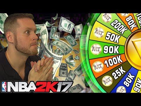 WHEEL OF WEALTH! RICHEST CHALLENGE ON NBA 2K17!