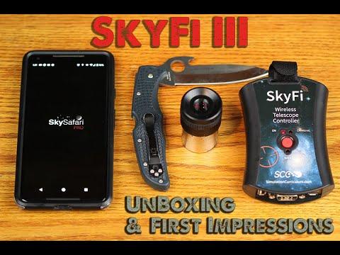 SkyFi 3 - WiFi Telescope Controller for iPhone iPad Android PC & Mac- SkySafari