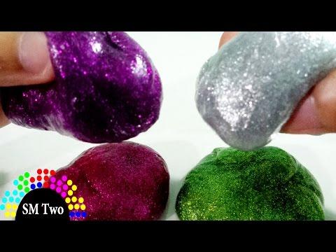 [Video Hướng Dẫn] Cách làm chất nhờn ma quái kim tuyến bằng hồ dán giấy