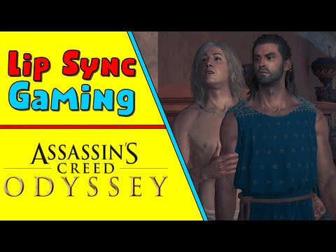 Assassin's Creed Odyssey Dubbed - Murder Mystery Party - Lip Sync Gaming |