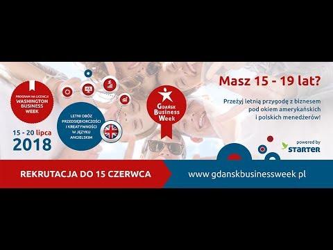 Weź udział w Gdańsk Business Week 2018! (30 sek)