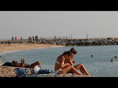 إخلاء شاطئ في برشلونة بسبب عبوة ناسفة  - نشر قبل 5 ساعة