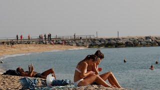 إخلاء شاطئ في برشلونة بسبب عبوة ناسفة