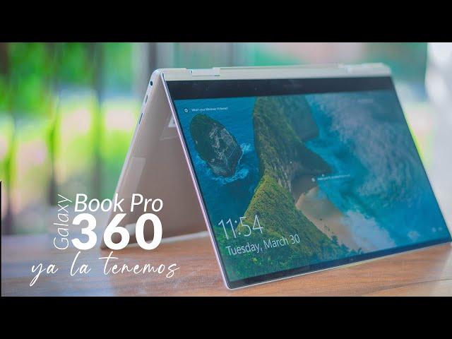 GALAXY BOOK PRO 360│UNBOXING en ESPAÑOL y PRIMERAS IMPRESIONES│LATINOAMÉRICA