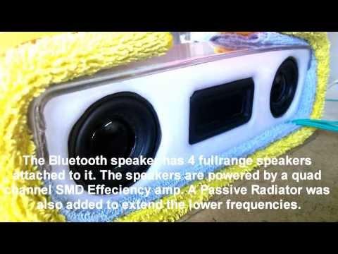 Extreme Soundtest -  DIY Bluetooth Speaker