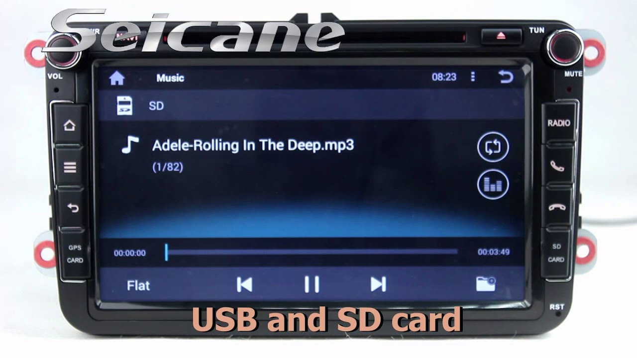 android 4 4 radio cd dvd player for 2003 2012 vw series. Black Bedroom Furniture Sets. Home Design Ideas