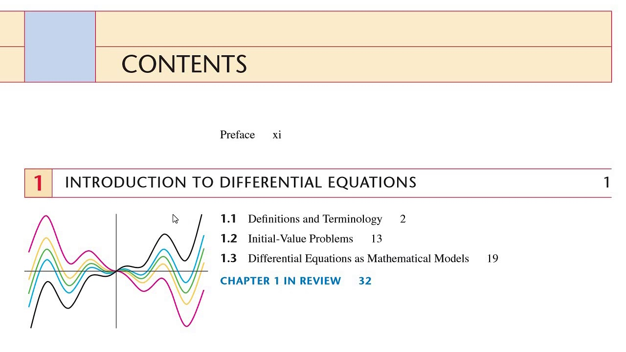 differential equations with boundary value problems 9th edition zill